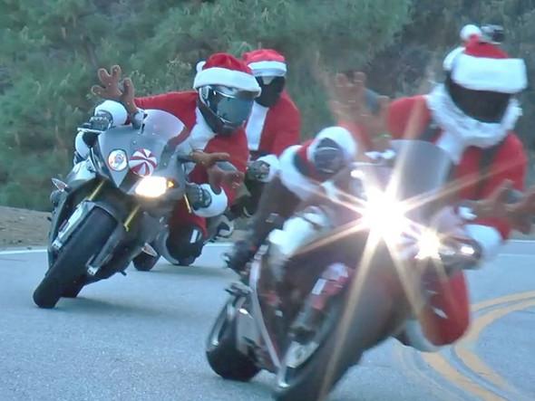 Ho Ho Ho... Santa on the road... - (Weihnachten, motorradfrage)