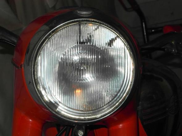 symmetrisch 60J. alt - (Scheinwerfer, England)