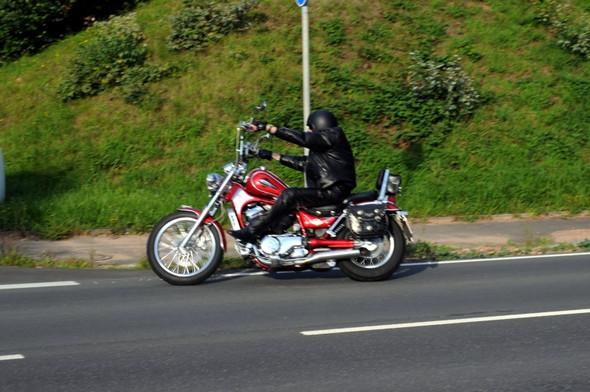 Unbekannter Biker im Harz - (Fahrpraxis)
