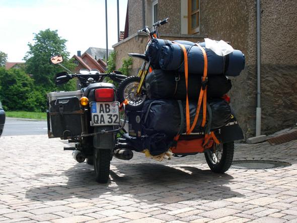 Reservemotorrad - (Tour, reise, Transport)