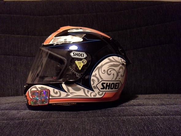 Bradleys Helm - (Klapphelm, Sonnenblende, ausklappbar)