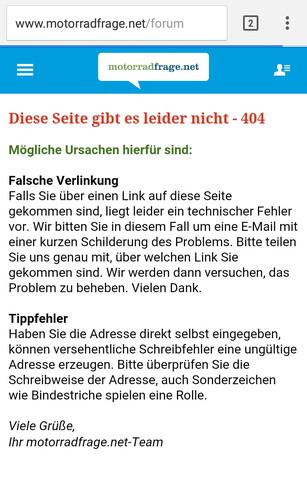 - (Forum, Technisches Problem)