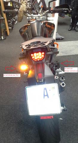 hinten - (blinker, beleuchtung, LED-Blinker)