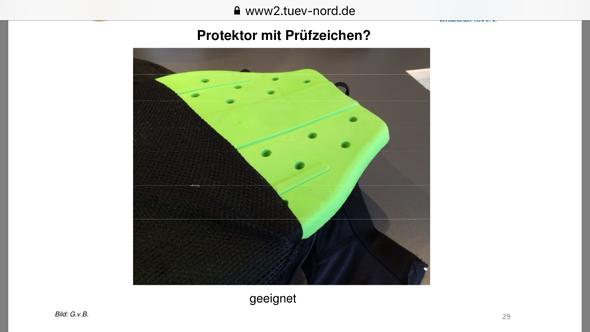 - (fahrschule, Prüfung, Rückenprotektor)
