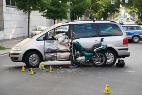 Unfallschaden - (Motorrad, Yamaha, 125er)
