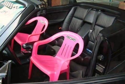 Autositze - (KTM, Geschwindigkeitsbegrenzung)