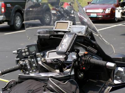 handy - (Handyhalterung, Yamaha r125)