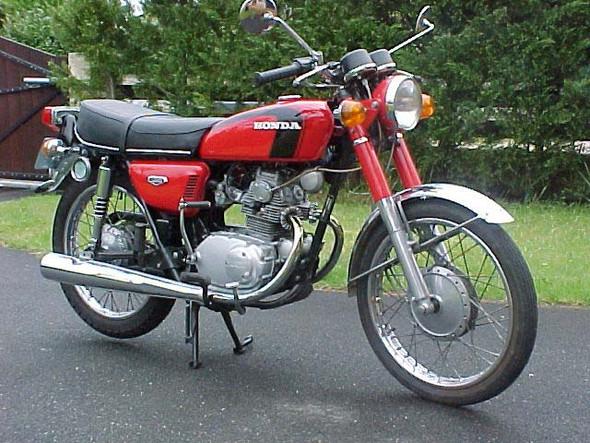 Honda CB 125 - (Cafe Racer)