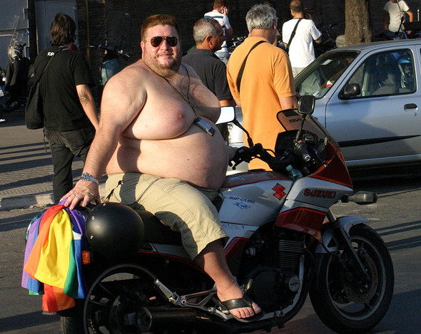 Oh je - (Motorrad Gewicht erhöhen)