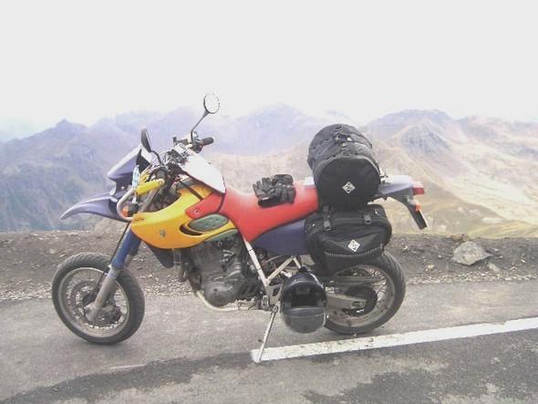 Col de la Bonette - (KTM 690 SMC, Tourenmotorrad)