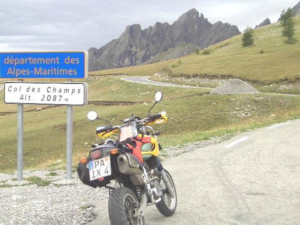 Noch ein Col - (KTM 690 SMC, Tourenmotorrad)