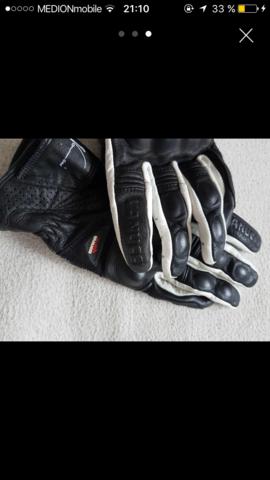 Bild 3 - (Motorradhanschuhe, Vanucci Motorradhandschuhe)