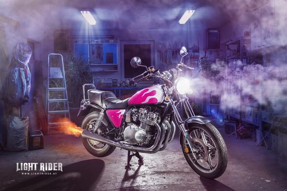 Lightrider - Suzuki GSX 750 L - (Motorrad, Bilder, Fotografie)