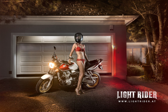 Lightrider - Honda CB 600 - (Motorrad, Bilder, Fotografie)