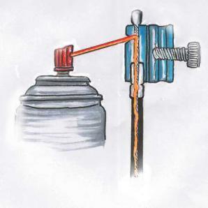 Ölerillustration - (Kawasaki, Kupplungshebel, Hydraulisch)
