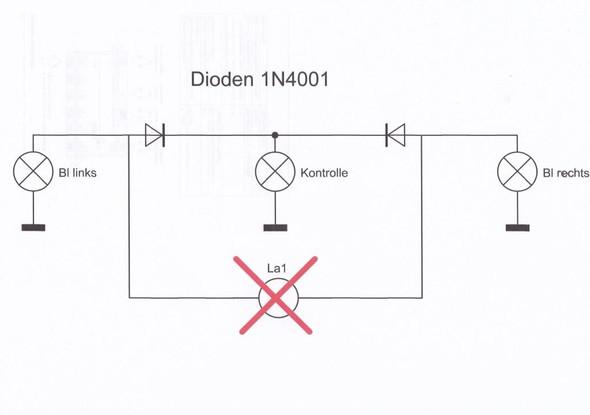 Kontrollleuchte entkoppeln - (Elektronik)