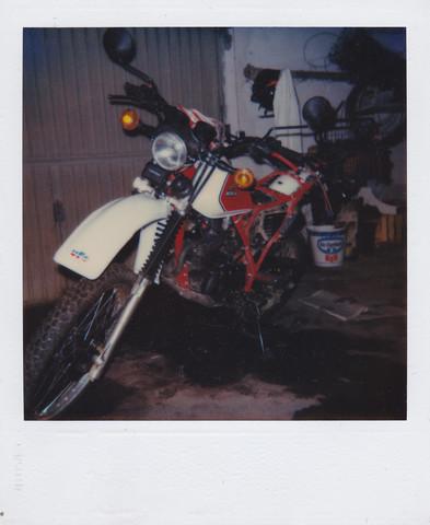 Meine alte XL (Winterlager) - (Welches Motorrad, Enduro oder Supermoto)