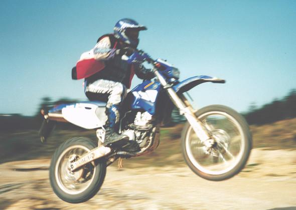 WR 426 im Tiefflug - (Welches Motorrad, Enduro oder Supermoto)
