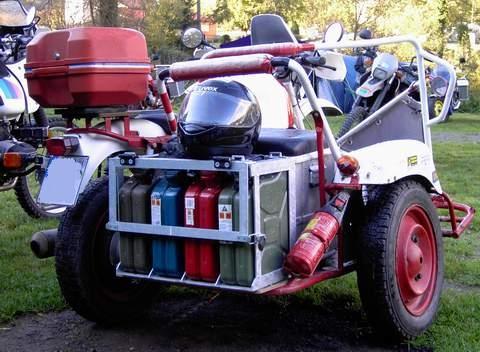 BMW Gelände-Gespann - (Motorrad, Benzin, Transport)