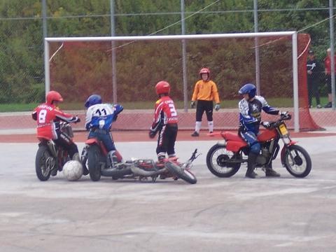 Motoball - (Motorrad, Sport, Motoball)