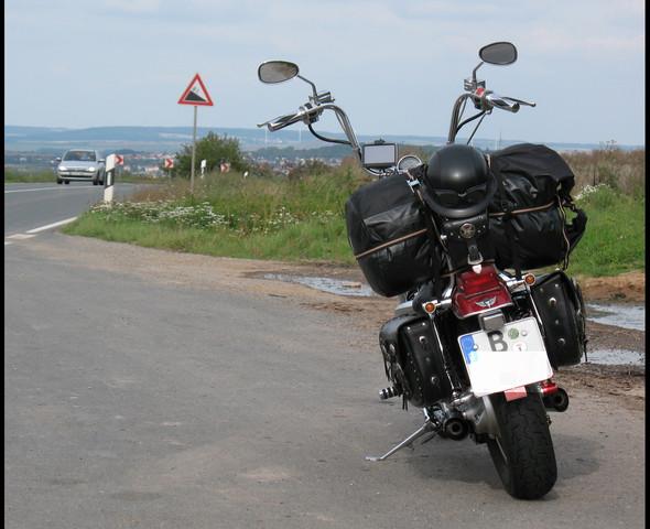 - (Motorrad, Kawasaki, Tasche)
