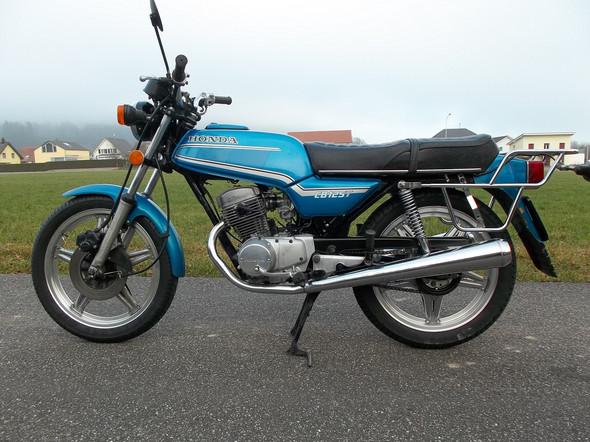 - (Honda Cb125, 6Volt auf 12Volt )