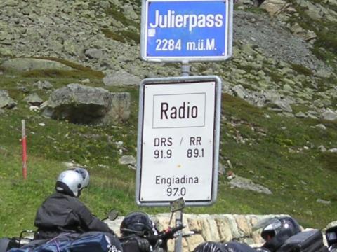 Auffahrt zum Pass - (Tour, Motorradtour, reise)