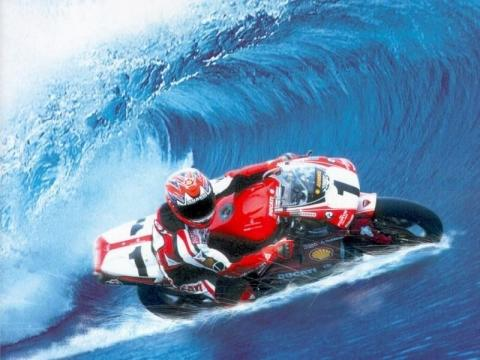 Bilduntertitel eingeben... - (Motorrad, Winter, Kilometer)
