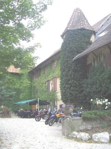 Romantische Quartiere - (Motorrad, Alpen, Alpenchallenge)