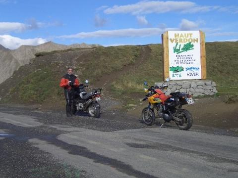Immer wieder neue Gipfel - (Motorrad, Alpen, Alpenchallenge)