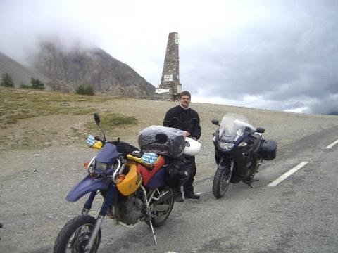 Da waren wir auch ... - (Motorrad, Alpen, Alpenchallenge)
