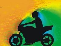 je höher die Scheibe, desto besser geht der Wind über den Fahrer - (Suzuki, Verkleidungsscheibe)