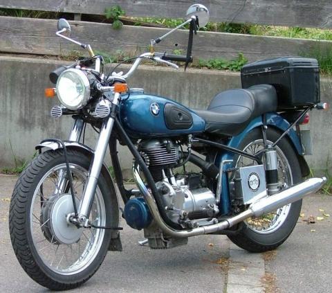 BMW R34/4 Bj. 1953 - (Motorrad, Oldtimer, Alter)