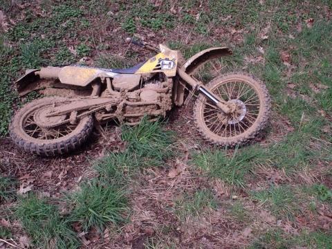 Husky TE 510 von Endurist - (Enduro, grobstollig Motorrad, Reifen Enduro Grip)