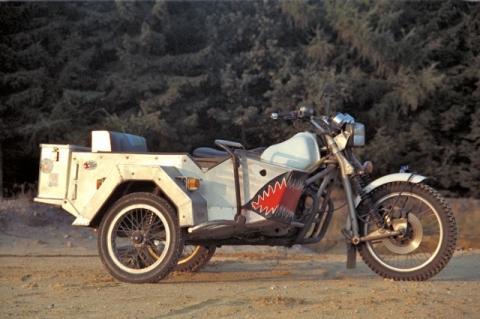 Wasp XS 650 - (Beiwagen, Umstieg)
