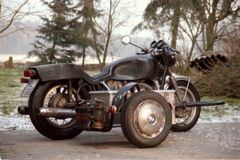 BMW Ratte - (Beiwagen, Umstieg)