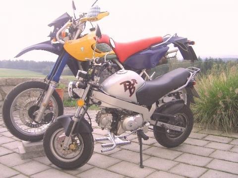 Baghi, davor die PBR - (Motorrad, Honda, Dax)