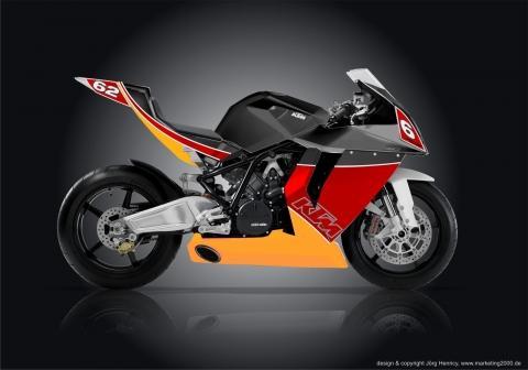KTM RC8 Team62.de - (Motorrad, Design, Studie)