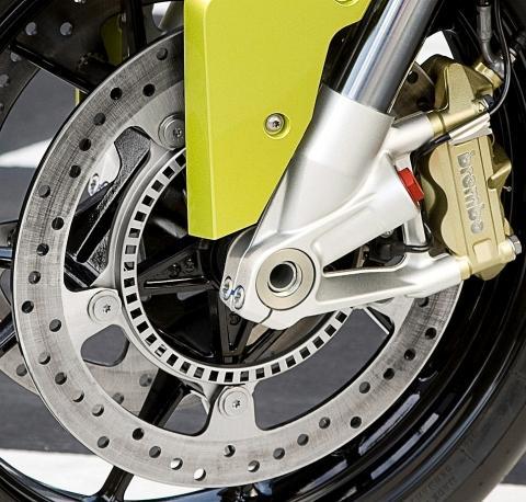 Vordere Bremsscheibe BMW S1000RR - (felgen, bremsscheiben, Hitze)