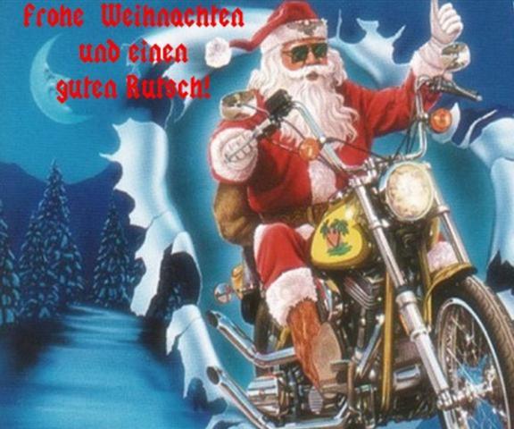 Weihnacht - (Biker-Weihnatchten, Frohe Weihnacht)