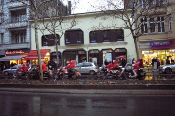 Weihnachtstour in Berlin - (Biker-Weihnatchten, Frohe Weihnacht)