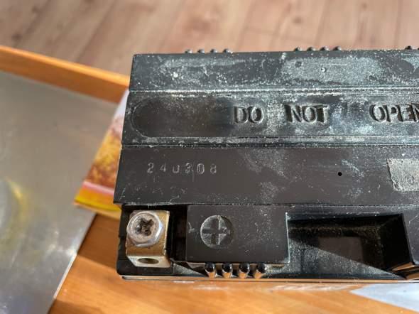 Alter der Batterie?