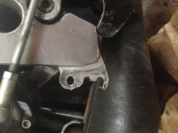 Ist der Aluminiumrahmen einer Aprilia RS 125 schweißbar?