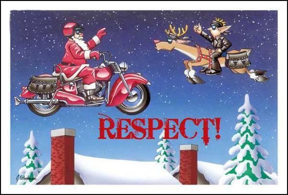 Frohe Weihnachten Motorrad.Frohliche Weihnachten Oder Frohliches Wein Achten