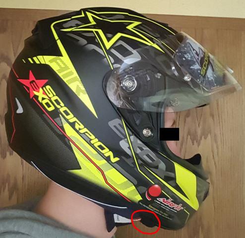 Seite - (Helm, Passform)