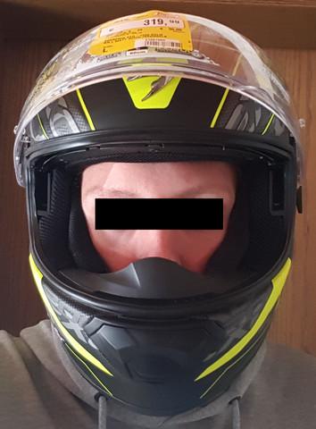Vorne - (Helm, Passform)