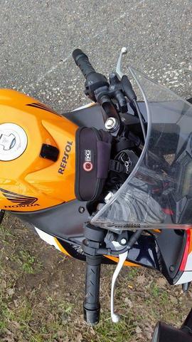 Honda CBR 125 Lenker verbogen