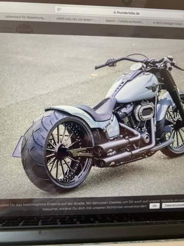 - (Reifen, Hinterrad, Custombike)