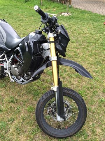 Ich mag den Kotflügel nicht. - (Motorrad, Supermoto, Umbau)