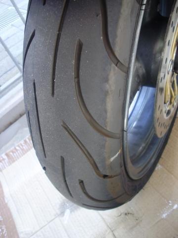vorne - (Reifen, Michelin Pilot Power, Reifenabnutzung)